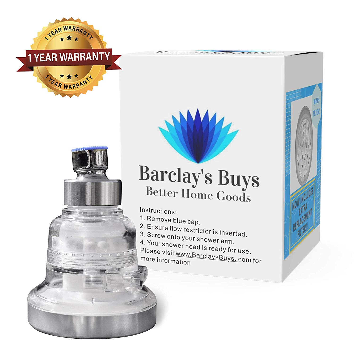 Barclay's Buys Filtered Showerhead