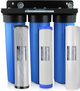 Apex 3-Stage Whole House 20-Inch Big Blue Water Filtration System
