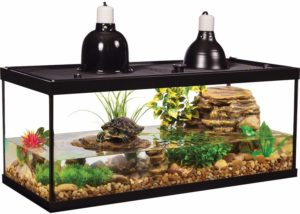 Tetra Aquarium Reptile Glass Kit with Two Dome Lamps