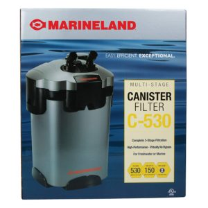 Marineland Multi-Stage Canister Filter for Aquariums, C-Series