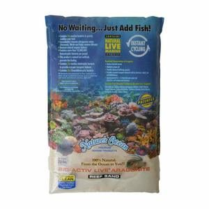 Nature's Ocean Bio-Activ Live Aragonite Reef Sand 0.5-1.7mm